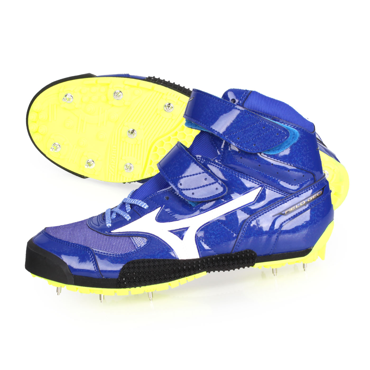 MIZUNO 特定-日製田徑釘鞋(標槍)  @FIELD GEO JT-B@U1GA194601 - 藍白