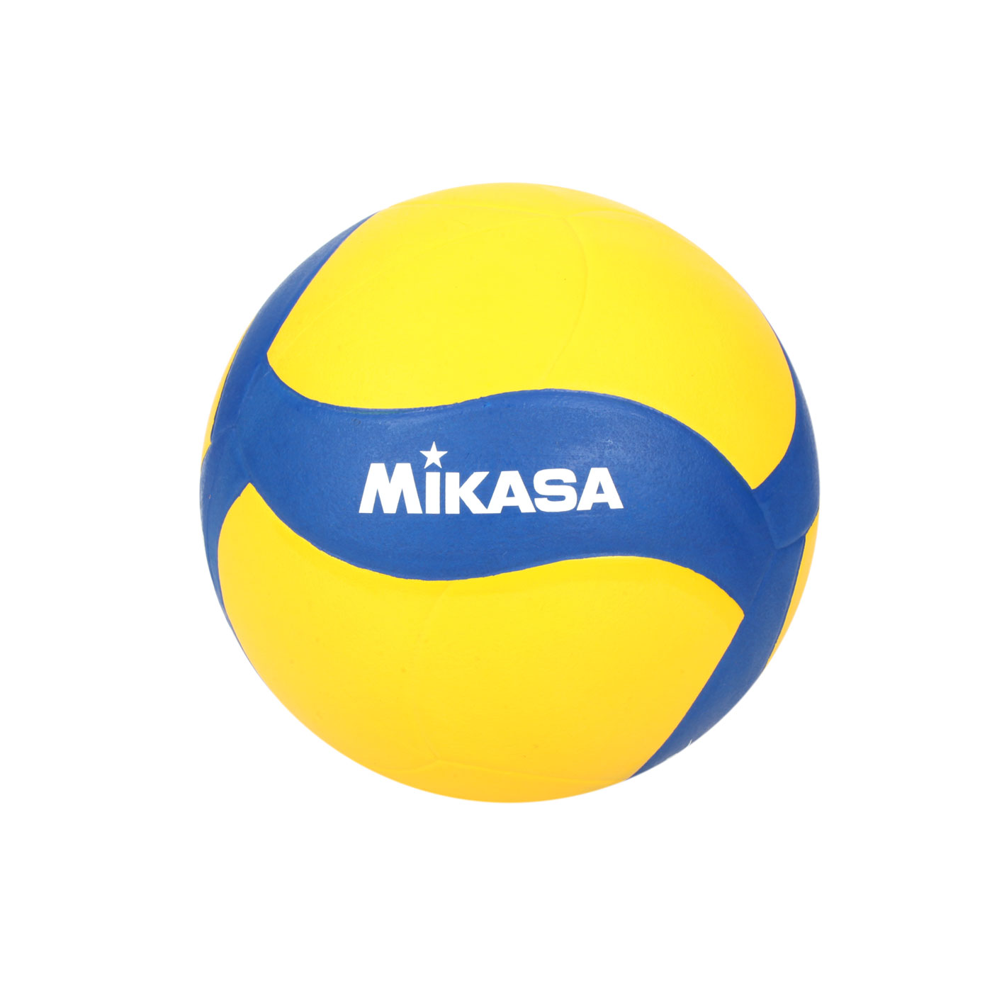 MIKASA 螺旋型軟橡膠排球#3 V023WS - 黃藍白