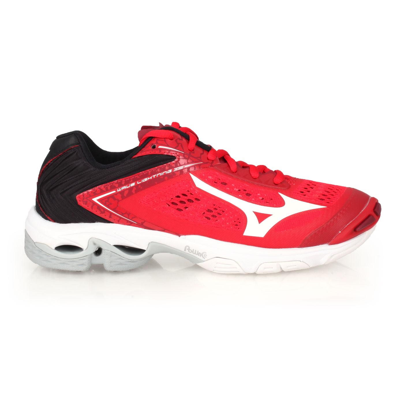 MIZUNO 特定限量獨家款-男女排球鞋  @WAVE LIGHTNING Z5@V1GA190062 - 紅黑白