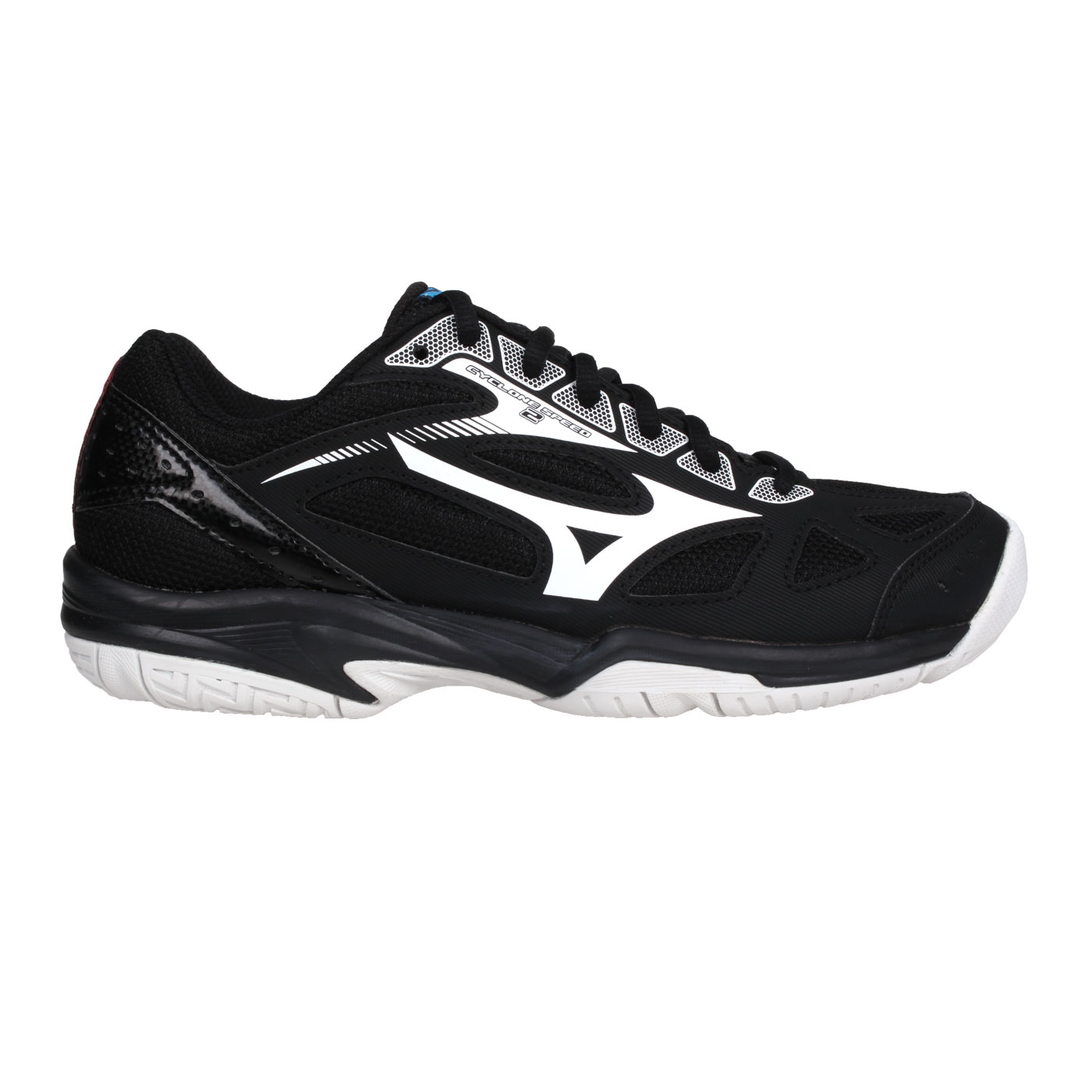 MIZUNO 排球鞋  @CYCLONE SPEED 2@V1GA198002 - 黑紅白藍