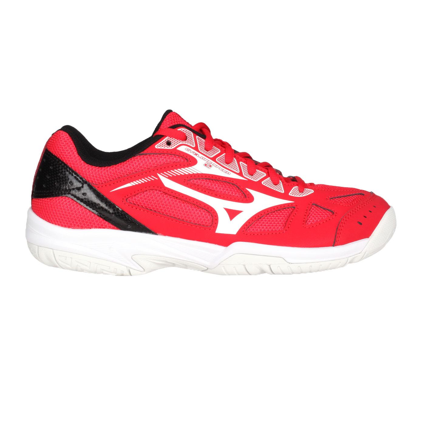 MIZUNO 排球鞋  @CYCLONE SPEED 2@V1GA198002 - 紅白黑