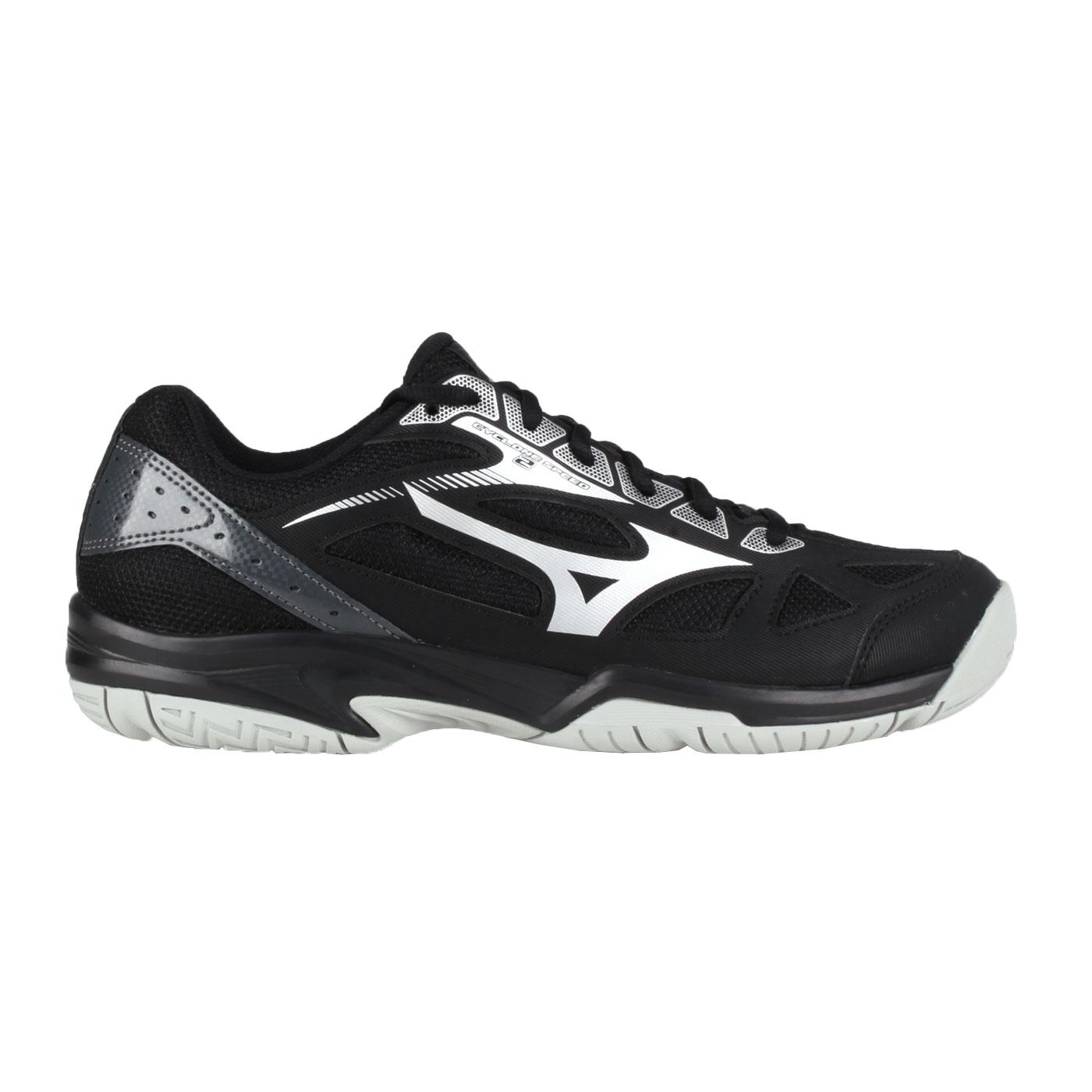 MIZUNO 排球鞋  @CYCLONE SPEED 2@V1GA198002 - 黑黑銀