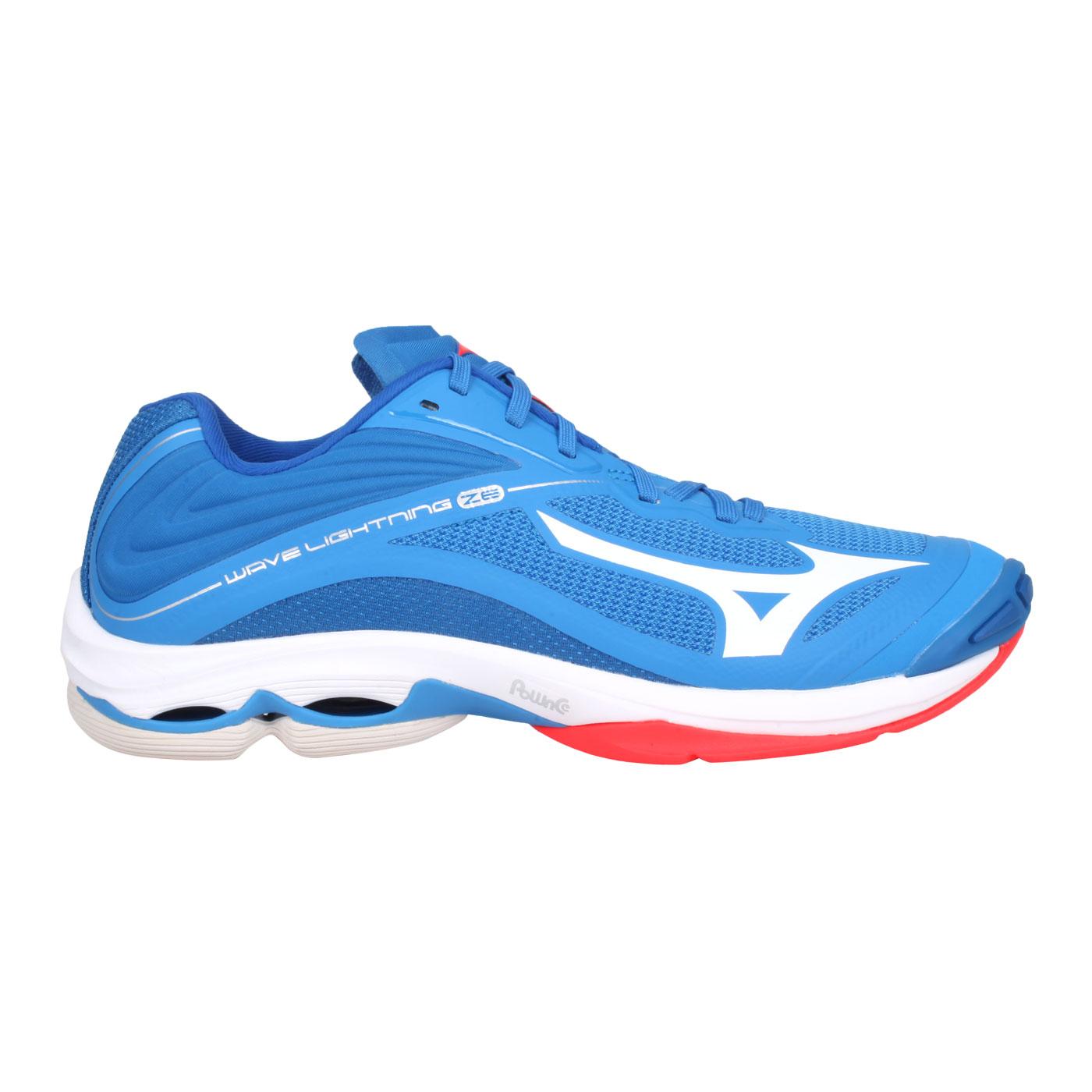 MIZUNO 排球鞋  @WAVE LIGHTNING Z6@V1GA200024 - 藍白紅
