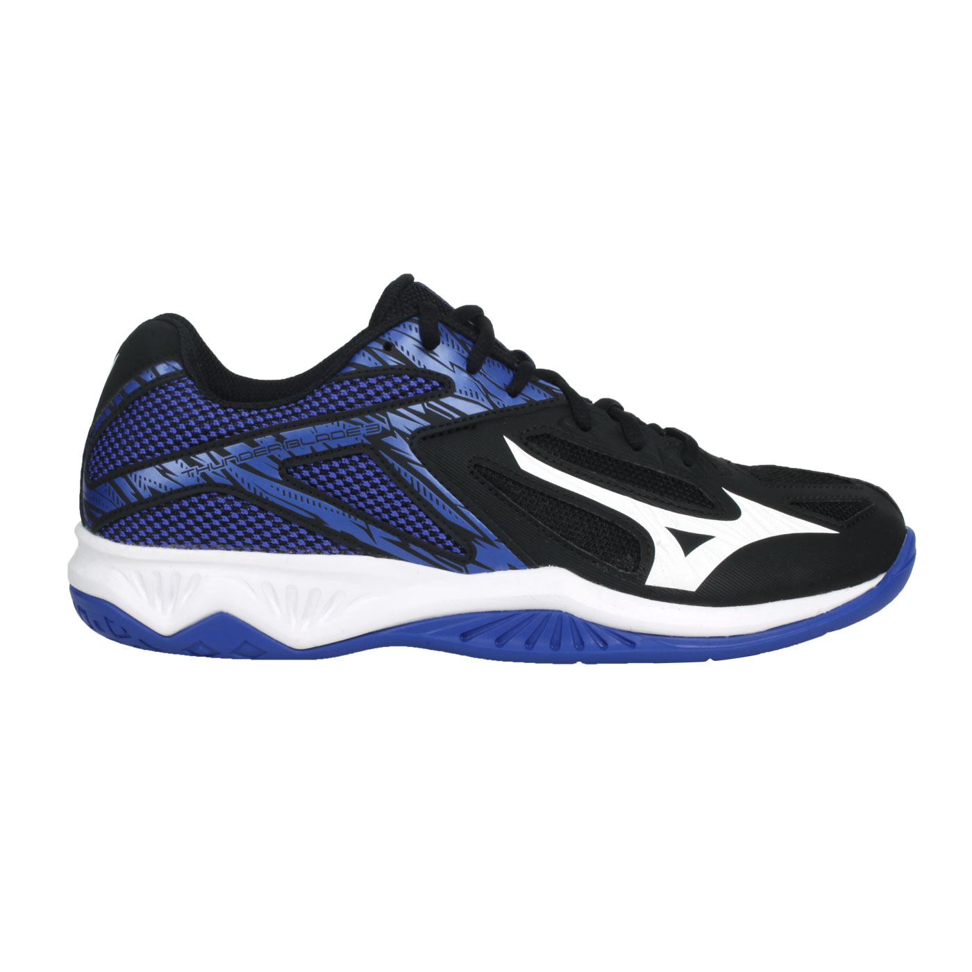 MIZUNO 排球鞋  @THUNDER BLADE 3@V1GA217003 - 黑白