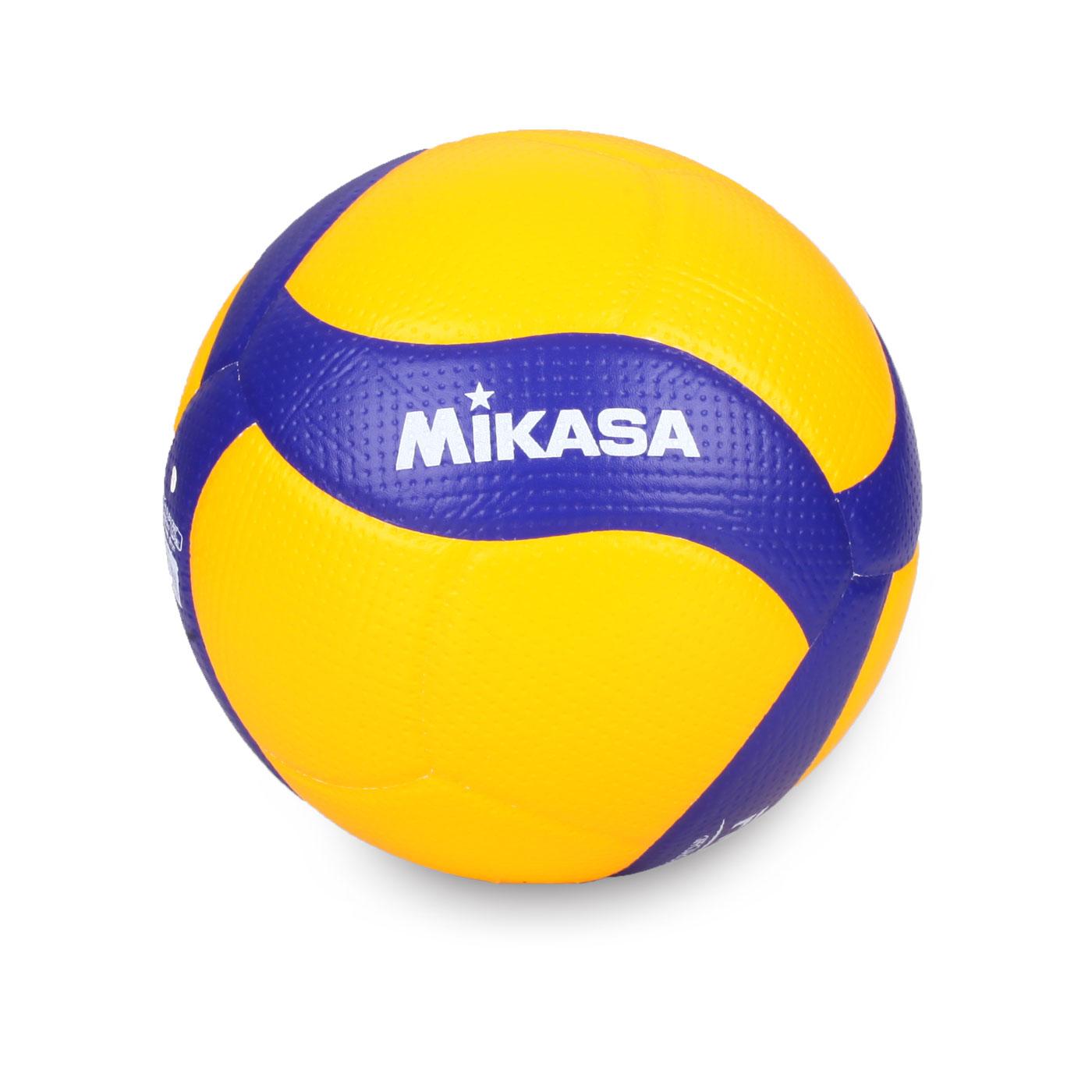 MIKASA 超纖皮製比賽級排球 #5  V200W - 黃藍