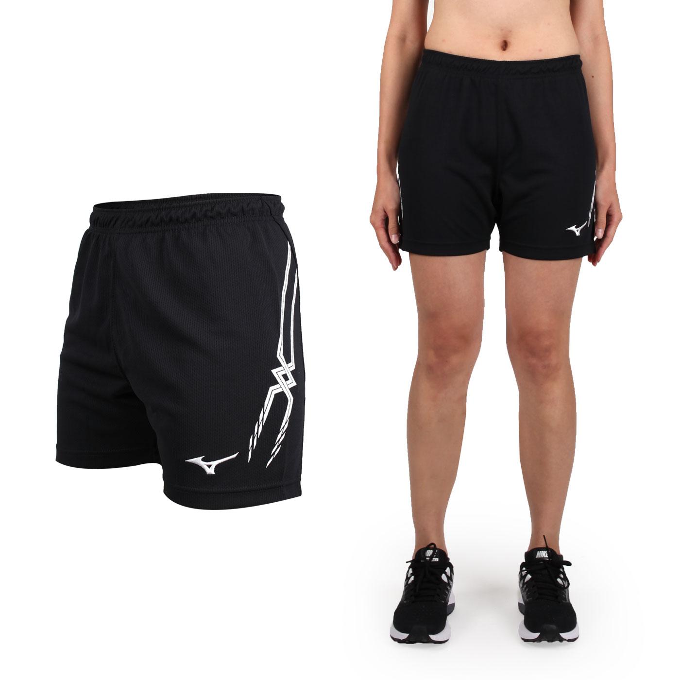 MIZUNO 女排球褲 V2TB7C1009 - 黑白