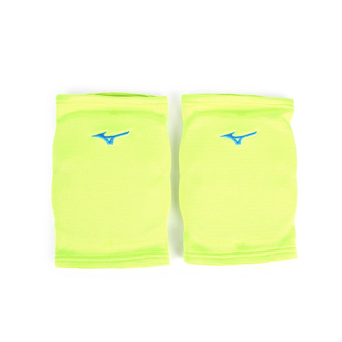 MIZUNO 成人用護膝 V2TY800609 - 螢光綠水藍