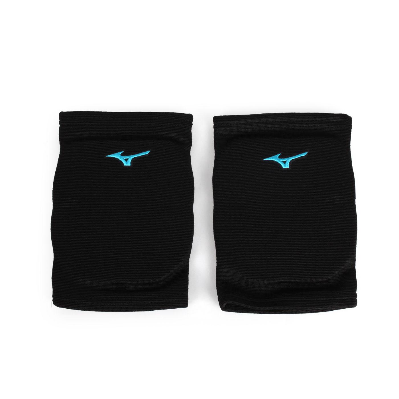 MIZUNO 成人用護膝 V2TY800609 - 黑水藍