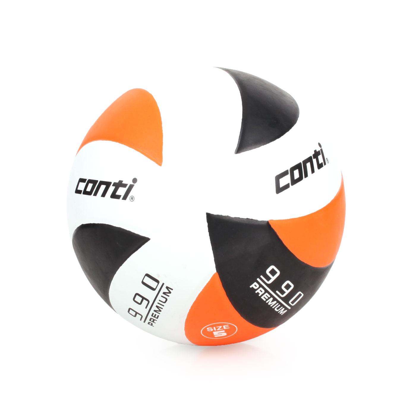 詠冠conti 5號頂級超世代橡膠排球 CONTIV990-5-WBKO - 橘黑白