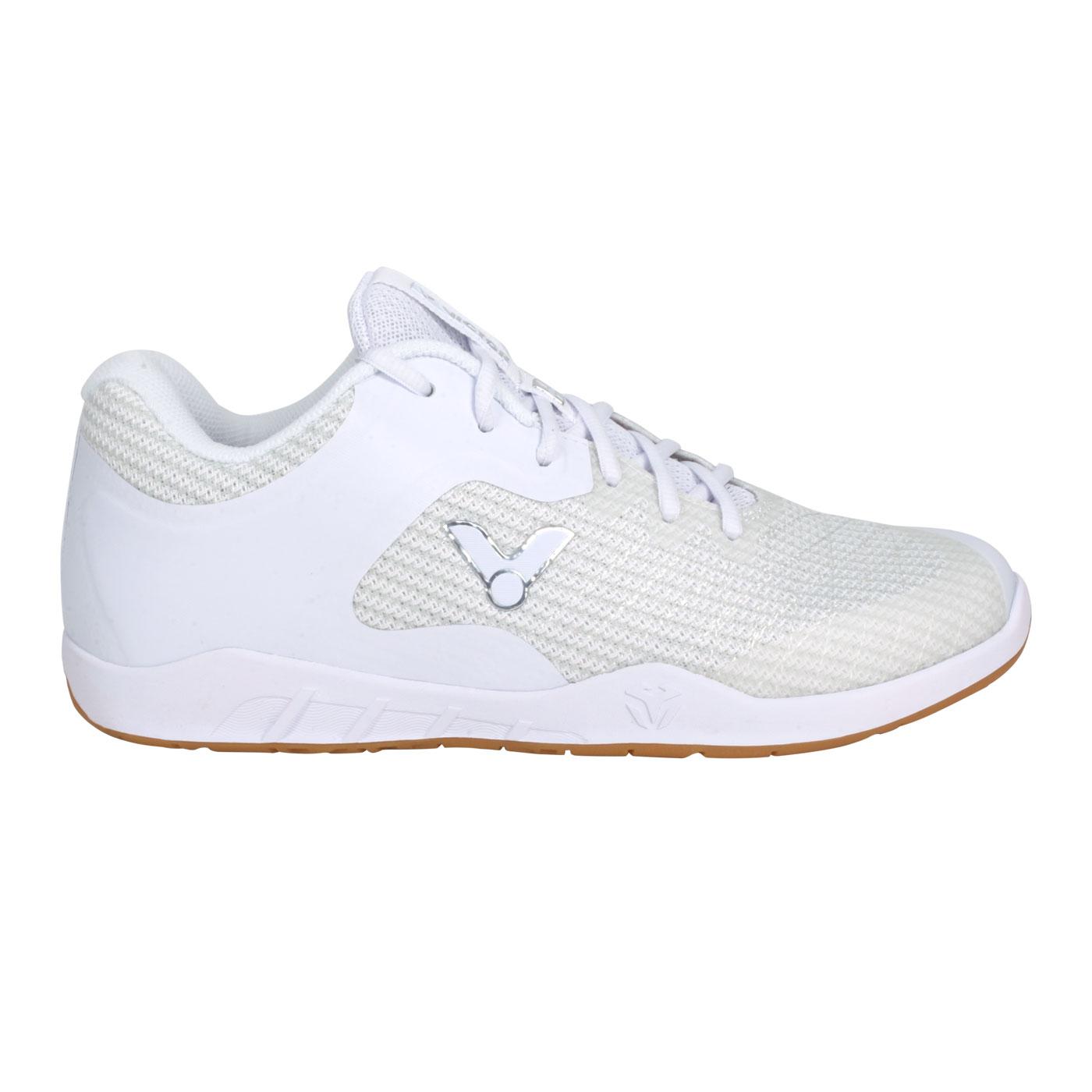VICTOR 男款羽球鞋 VG1-A - 白銀