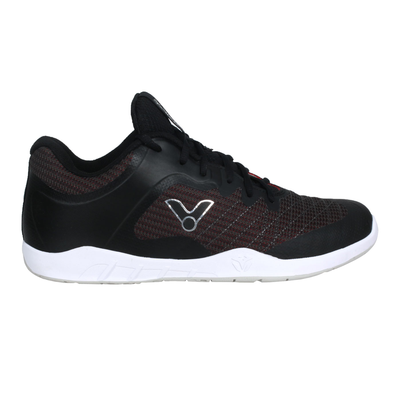 VICTOR 男款羽球鞋 VG1-C - 黑銀紅