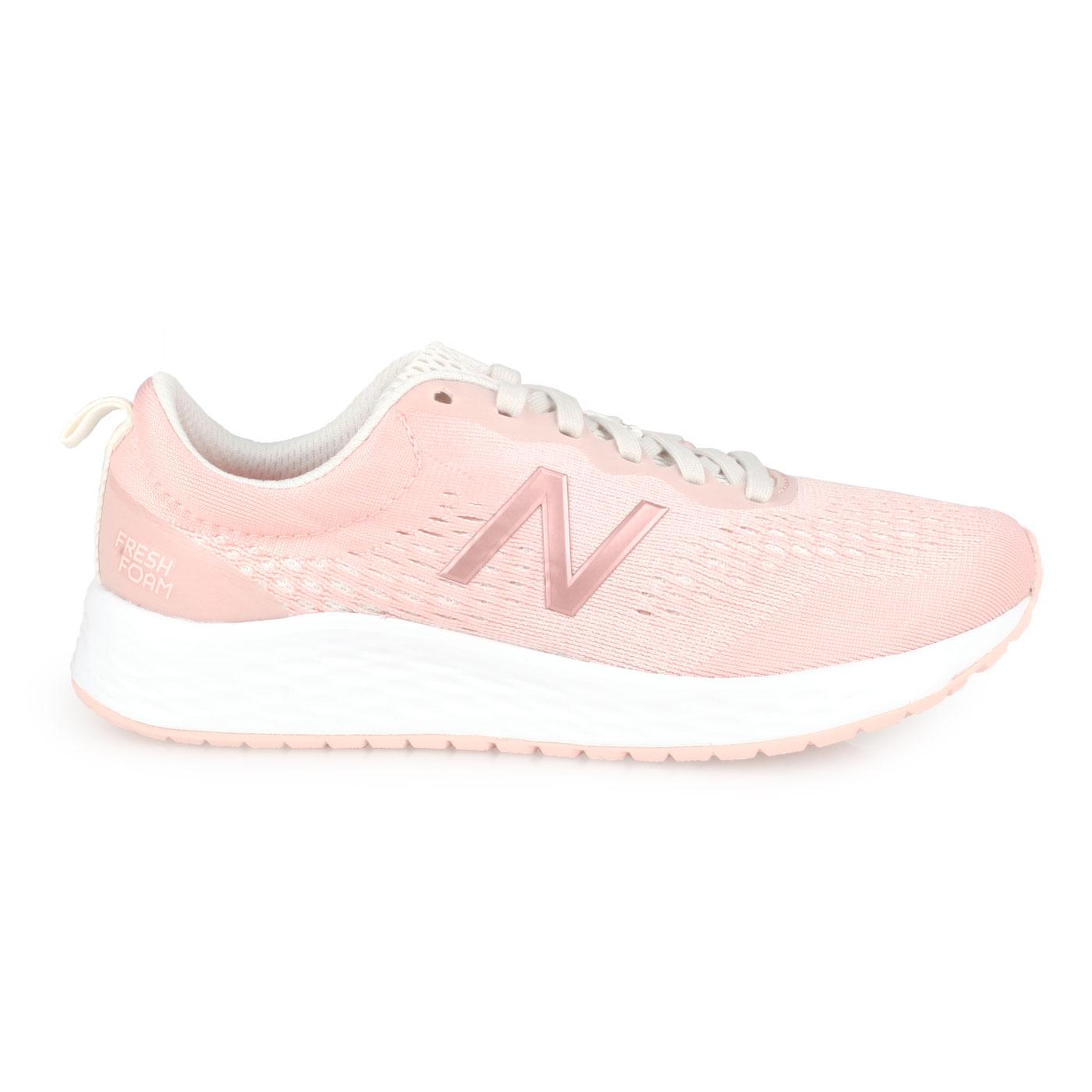 NEW BALANCE 女款慢跑鞋-WIDE WARISCP3 - 淺粉灰