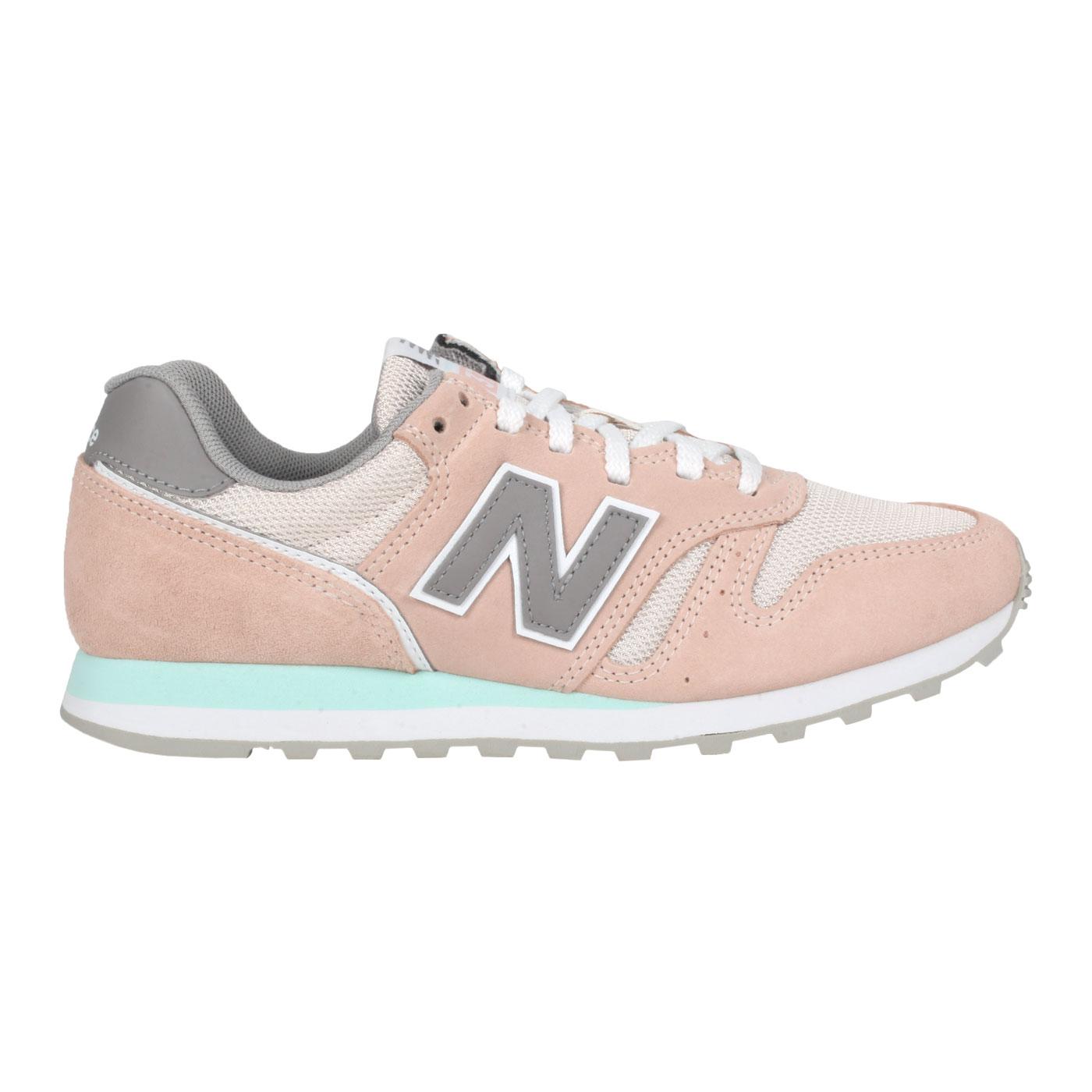 NEW BALANCE 女款休閒運動鞋 WL373CP2 - 粉橘灰綠