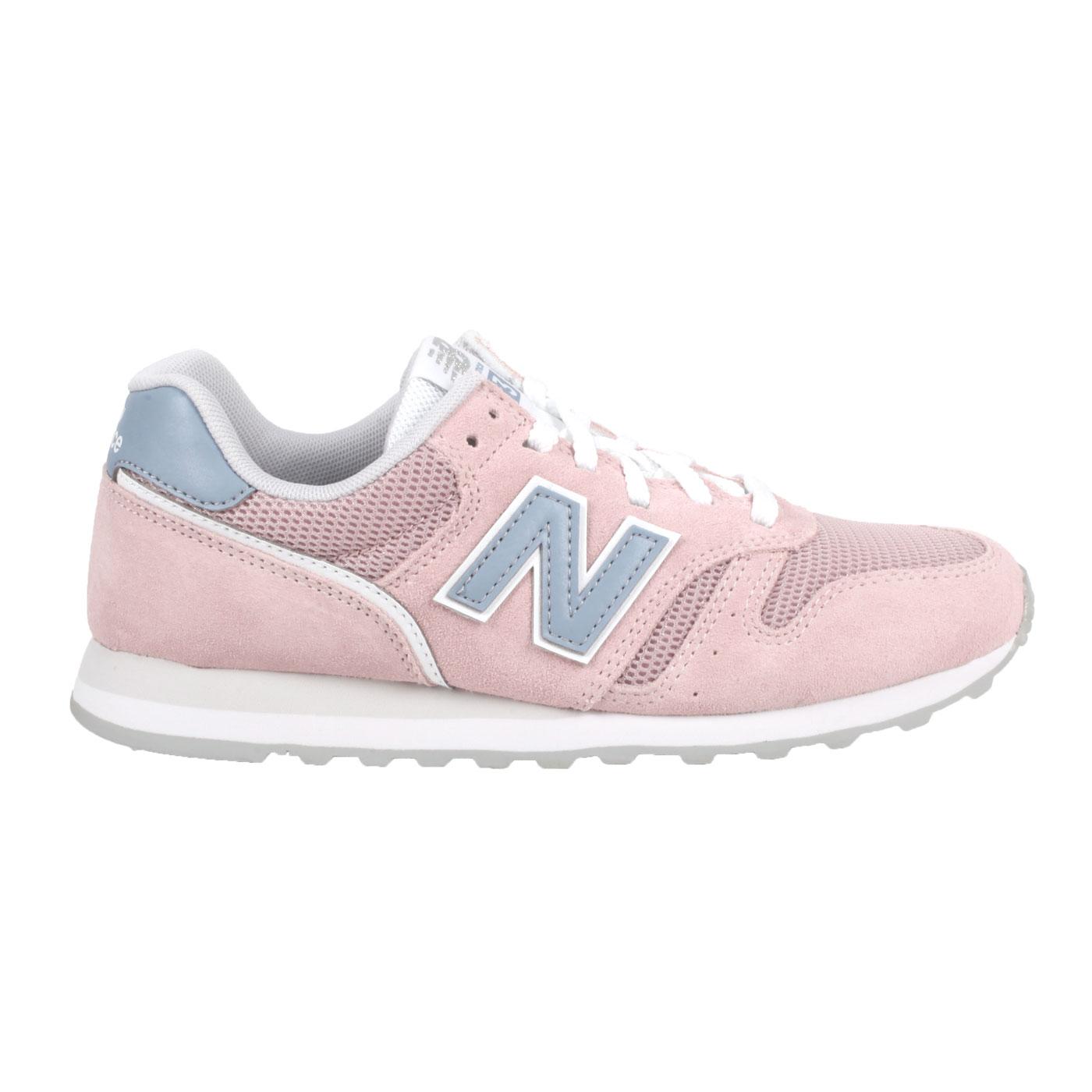 NEW BALANCE 女款休閒運動鞋 WL373DC2 - 粉白灰藍