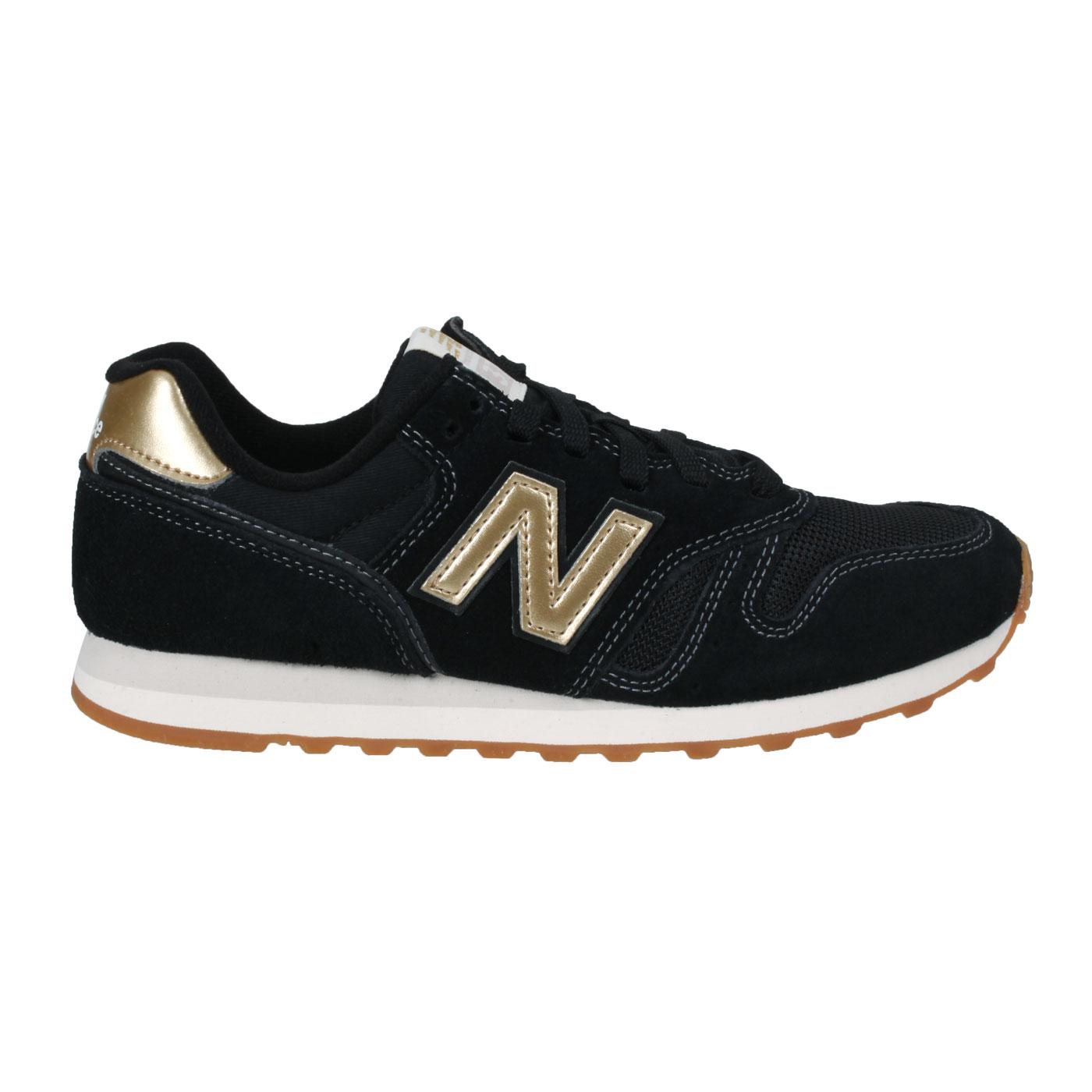 NEW BALANCE 女款復古休閒鞋 WL373FB2 - 黑金