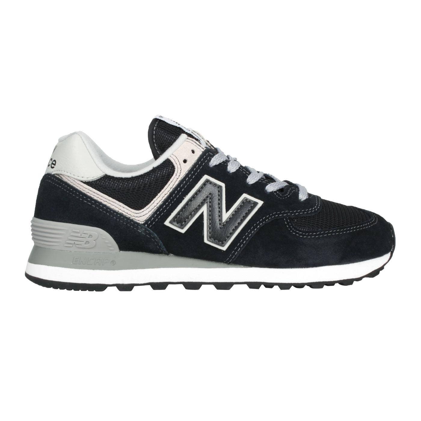 NEW BALANCE 女款休閒運動鞋 WL574EB - 黑灰