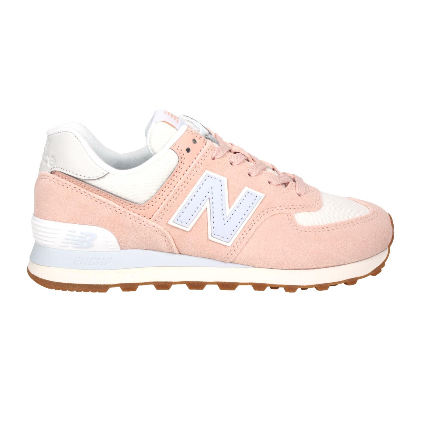 NEW BALANCE 女款運動休閒鞋 WL574NE2 - 粉紫灰