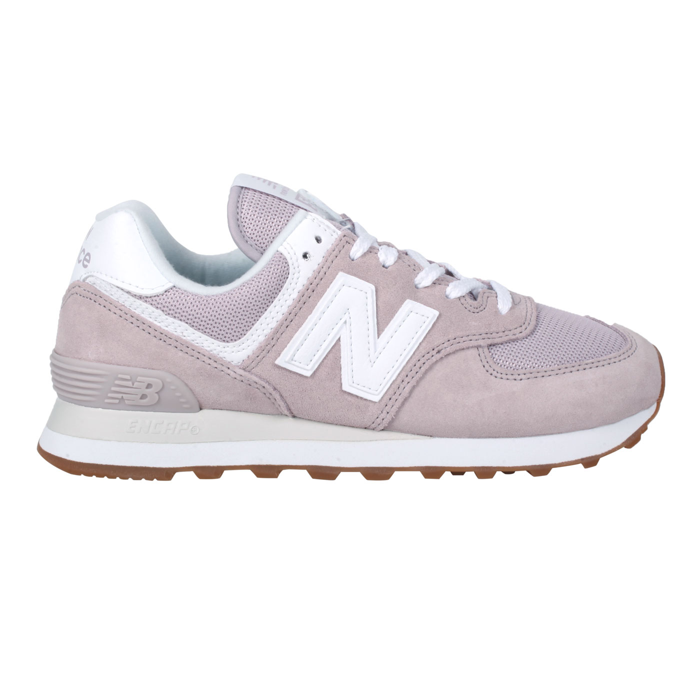 NEW BALANCE 女款休閒運動鞋 WL574PA2 - 芋紫白