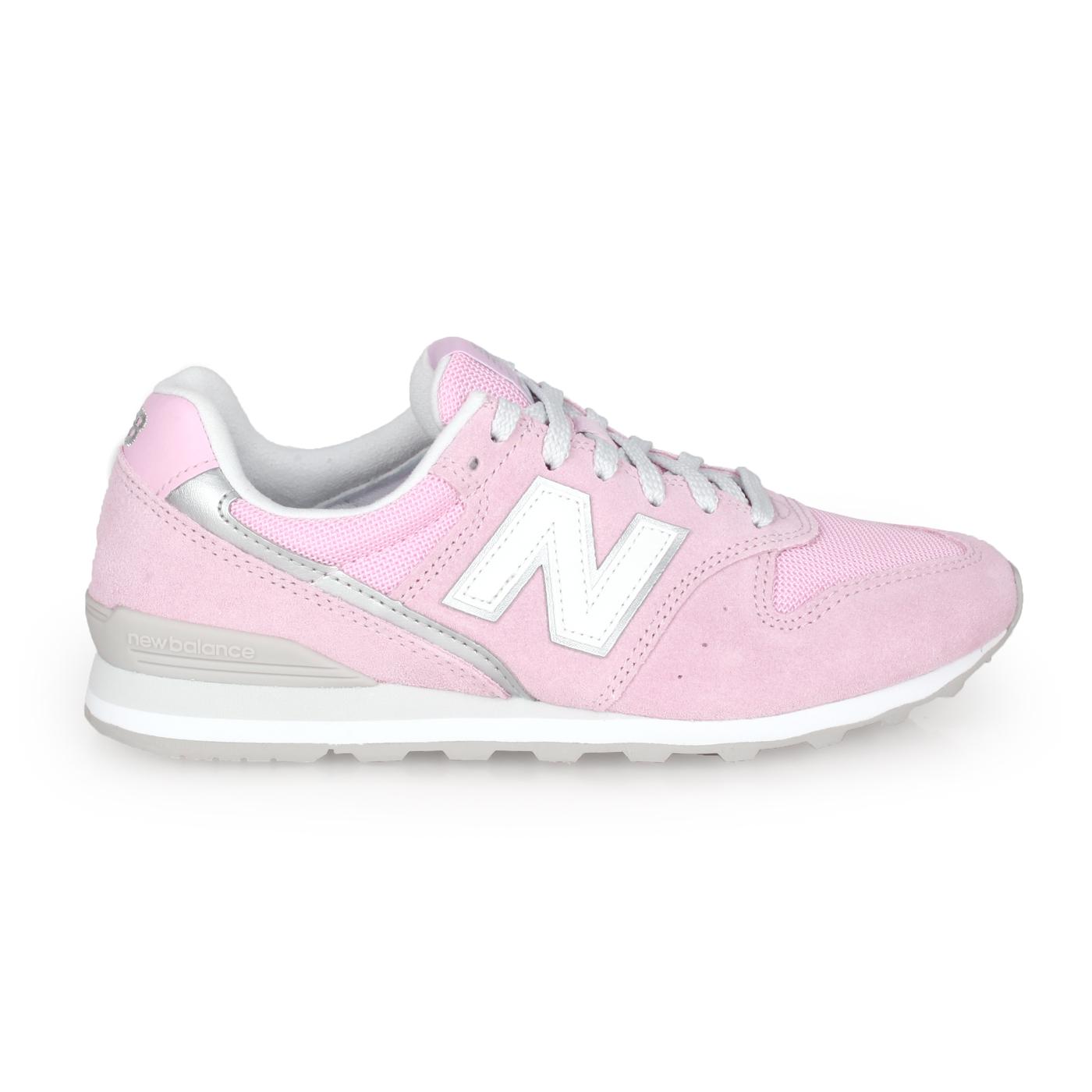 NEW BALANCE 女款復古慢跑鞋-WIDE WL996CLD - 粉紅白銀