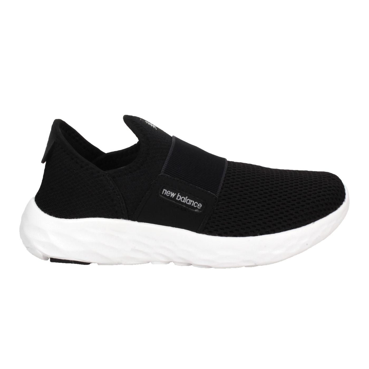 NEW BALANCE 女款運動休閒鞋-WIDE WSPTSSB2 - 黑白