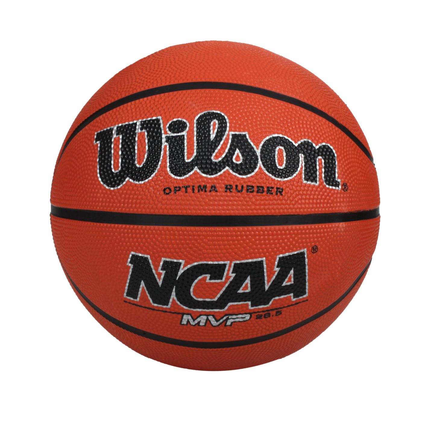 WILSON NCAA MVP 橡膠籃球#6 WTB0761XDEF - 橘黑