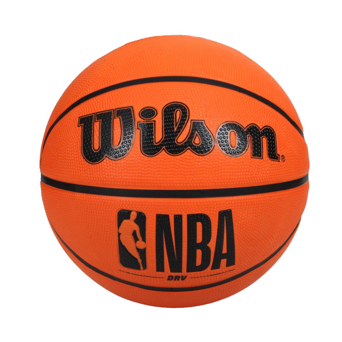 WILSON NBA DRV系列橡膠籃球#6 WTB9300XB06 - 橘黑