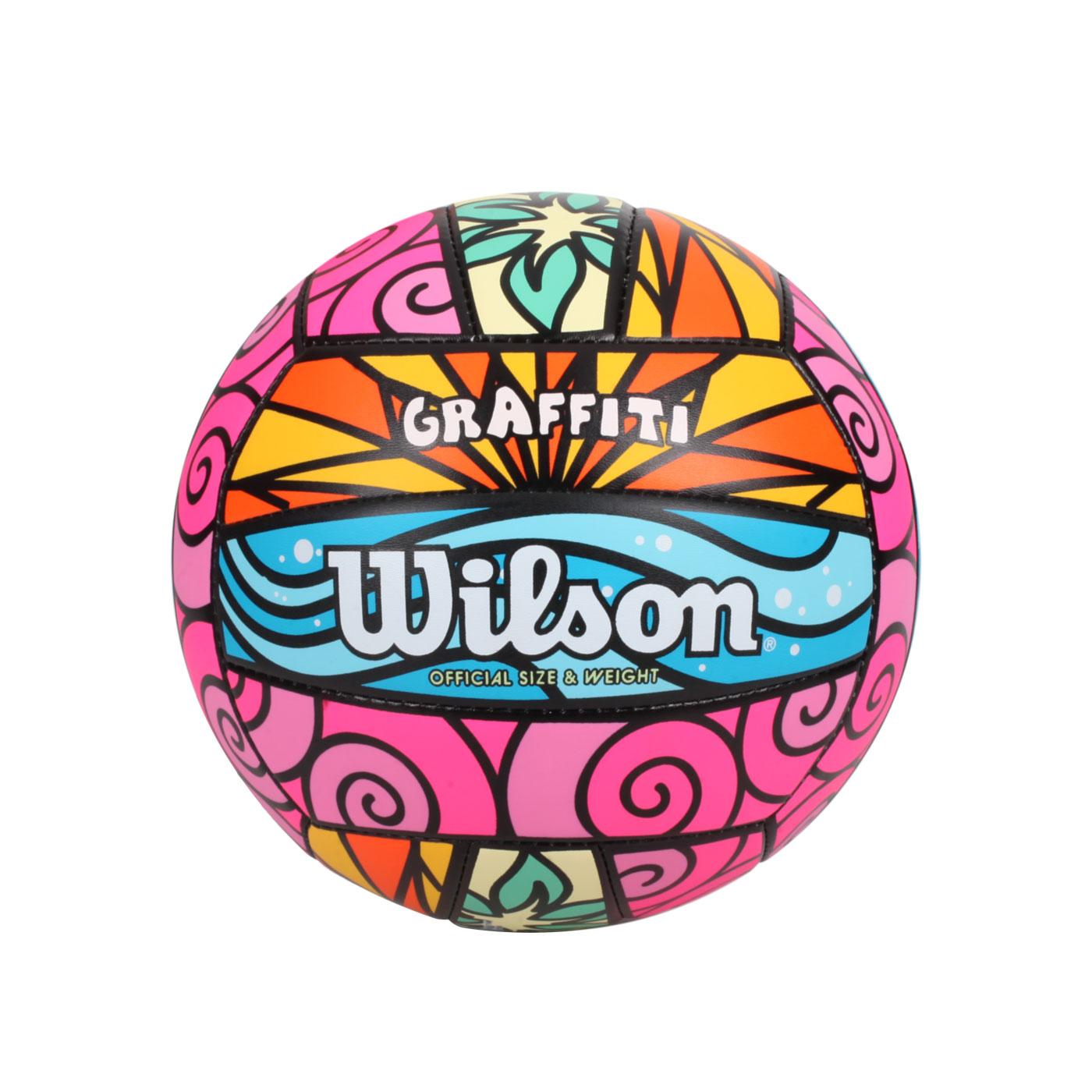 WILSON 沙灘排球-繽紛款#5 WTH4634XB - 彩色