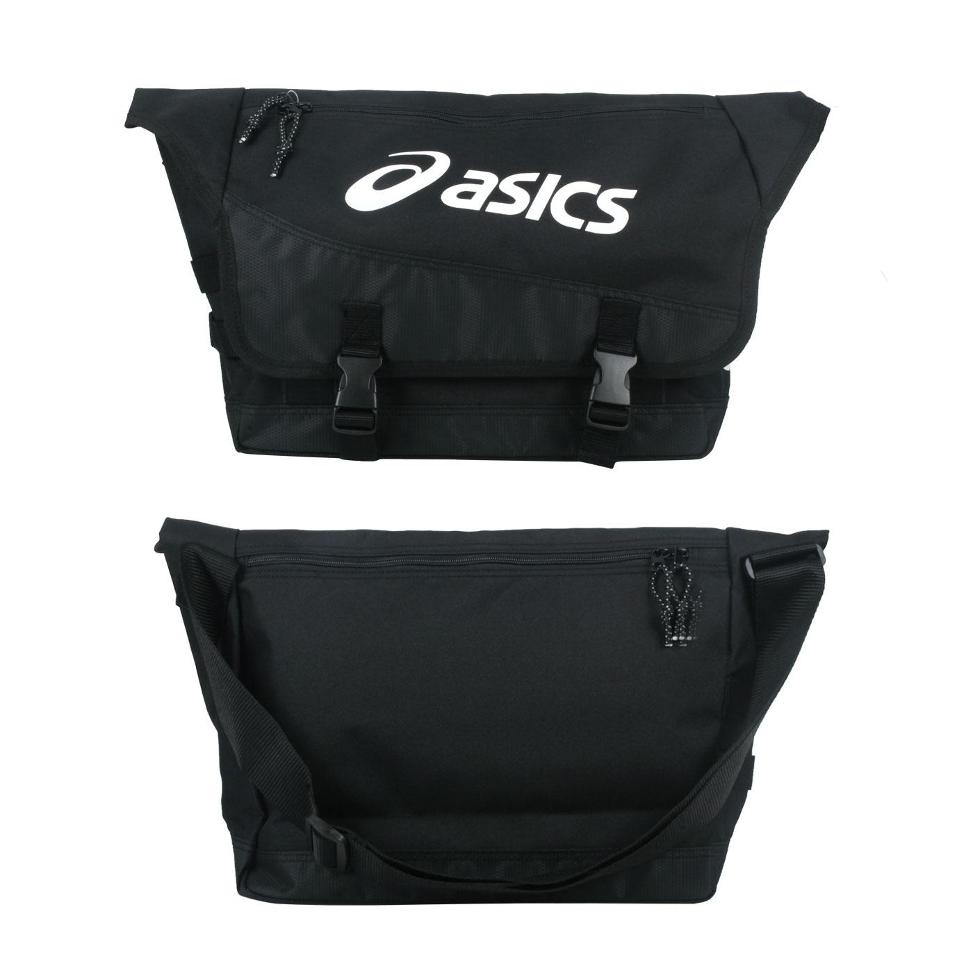 ASICS 側背包 Y32002-90 - 黑白