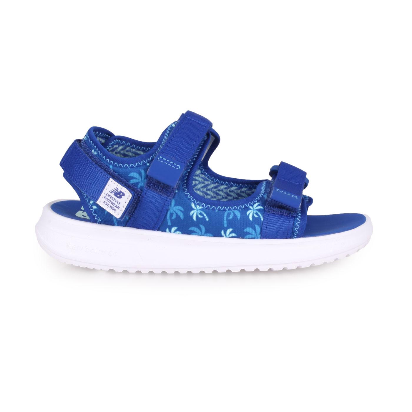 NEW BALANCE 中童運動涼鞋-W YH750BP - 藍