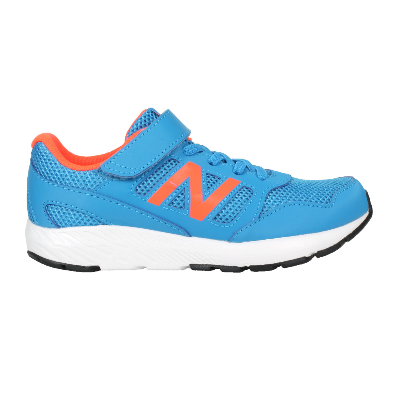 NEW BALANCE 中童休閒運動鞋-WIDE YT570CRS - 寶藍螢光橘