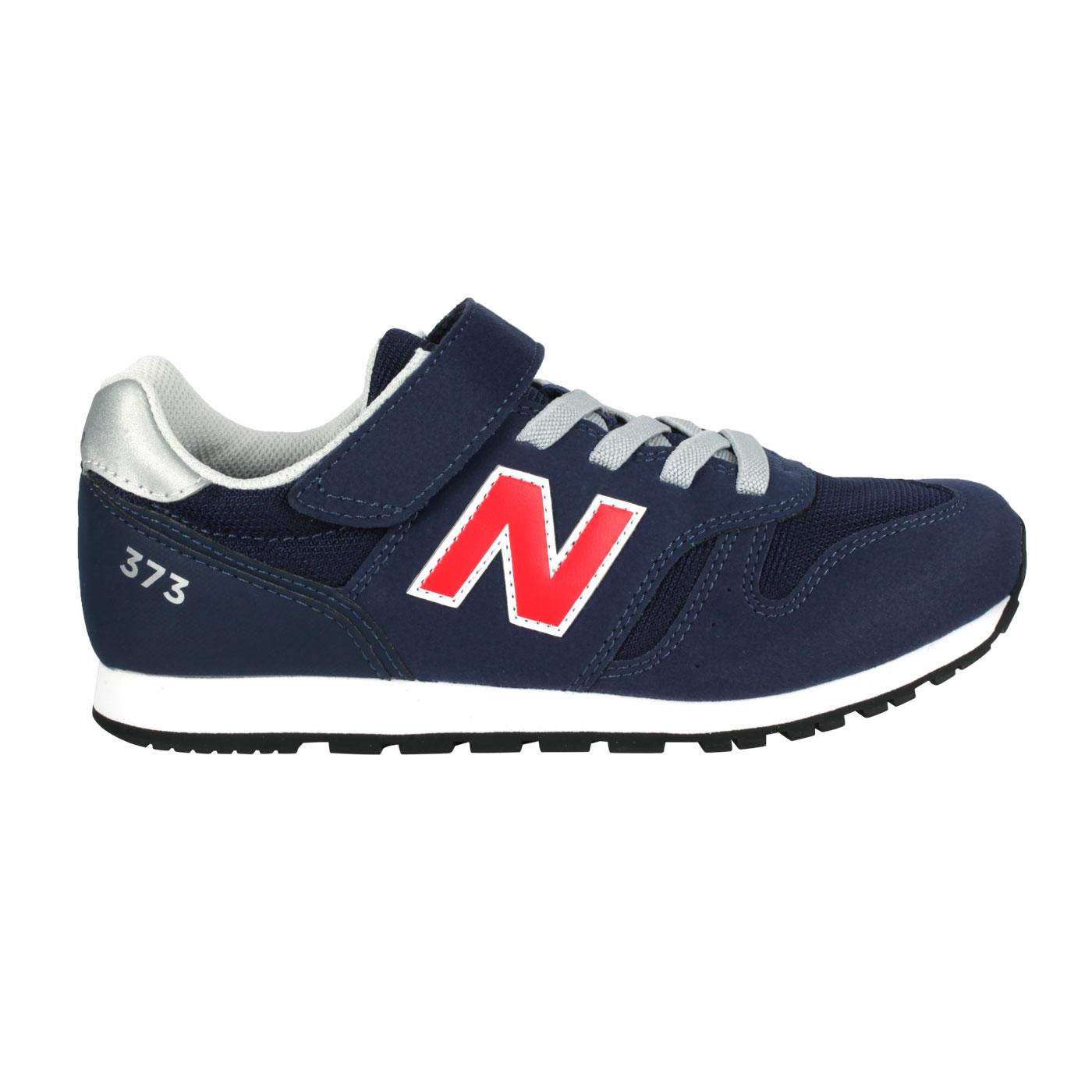 NEW BALANCE 中童休閒運動鞋-WIDE YV373CS2 - 深藍紅