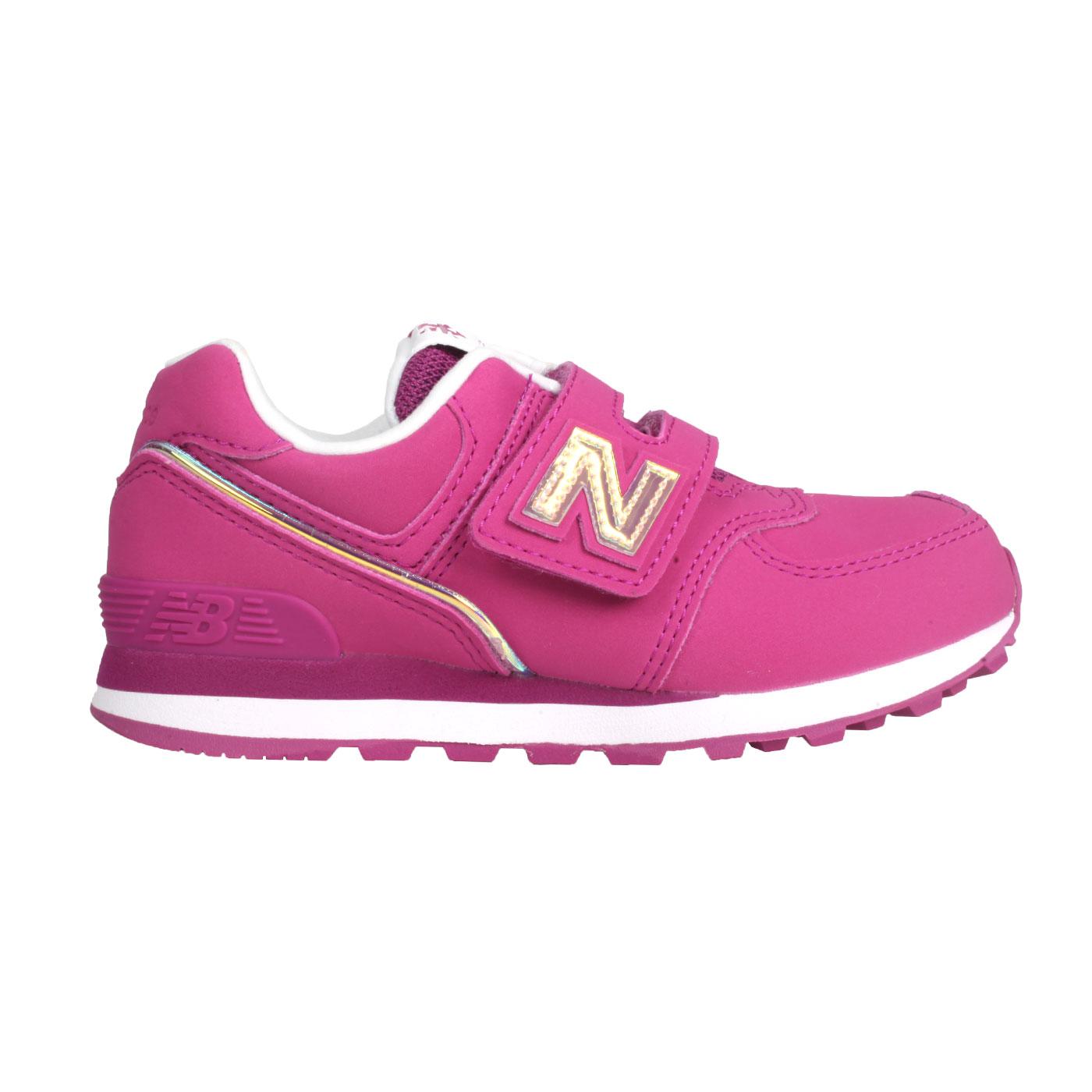NEW BALANCE 中童休閒運動鞋 YV574MTP - 桃紅香檳金