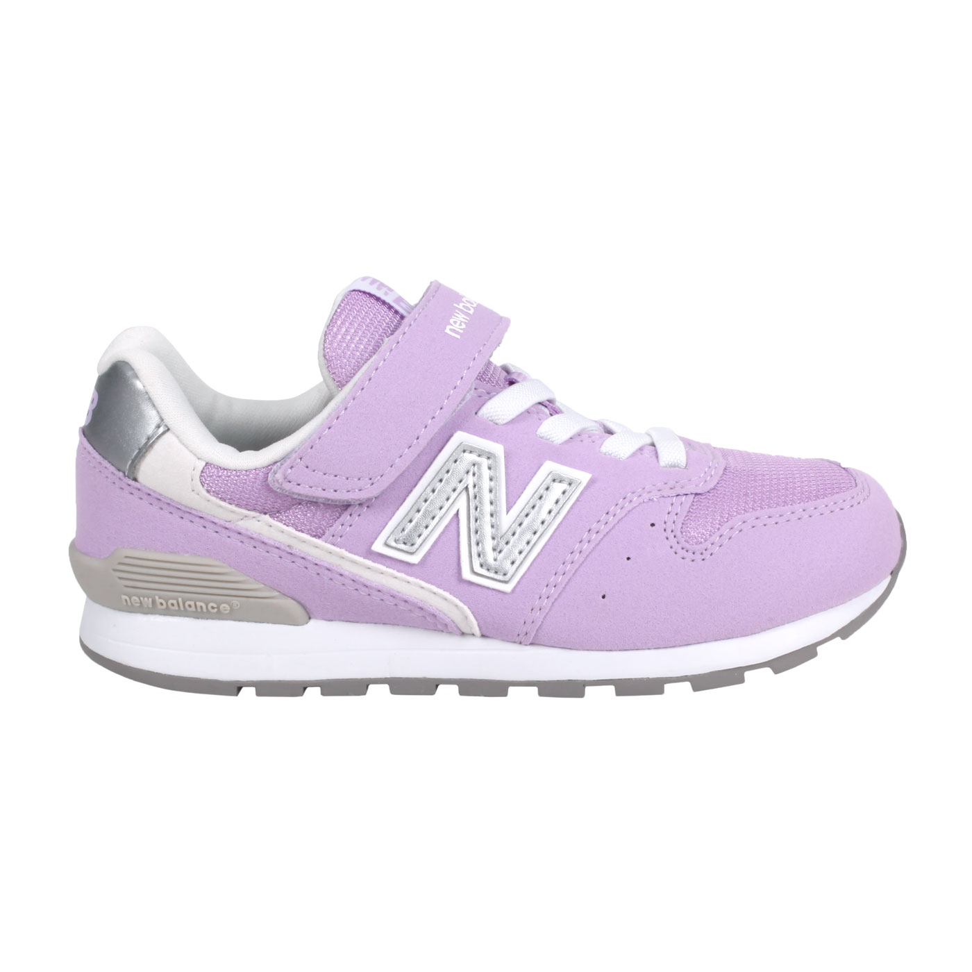 NEW BALANCE 中童休閒運動鞋-WIDE YV996LC3 - 紫銀