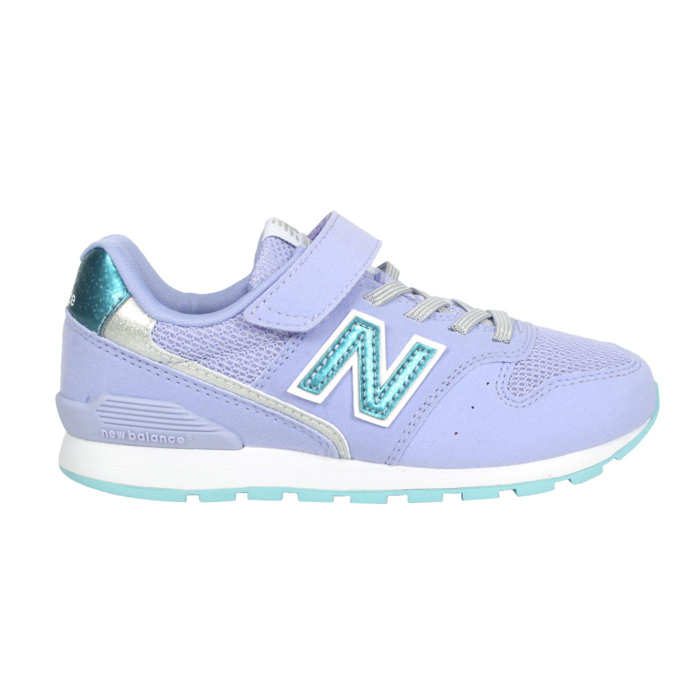 NEW BALANCE 中童休閒運動鞋-WIDE YV996ULV - 紫藍