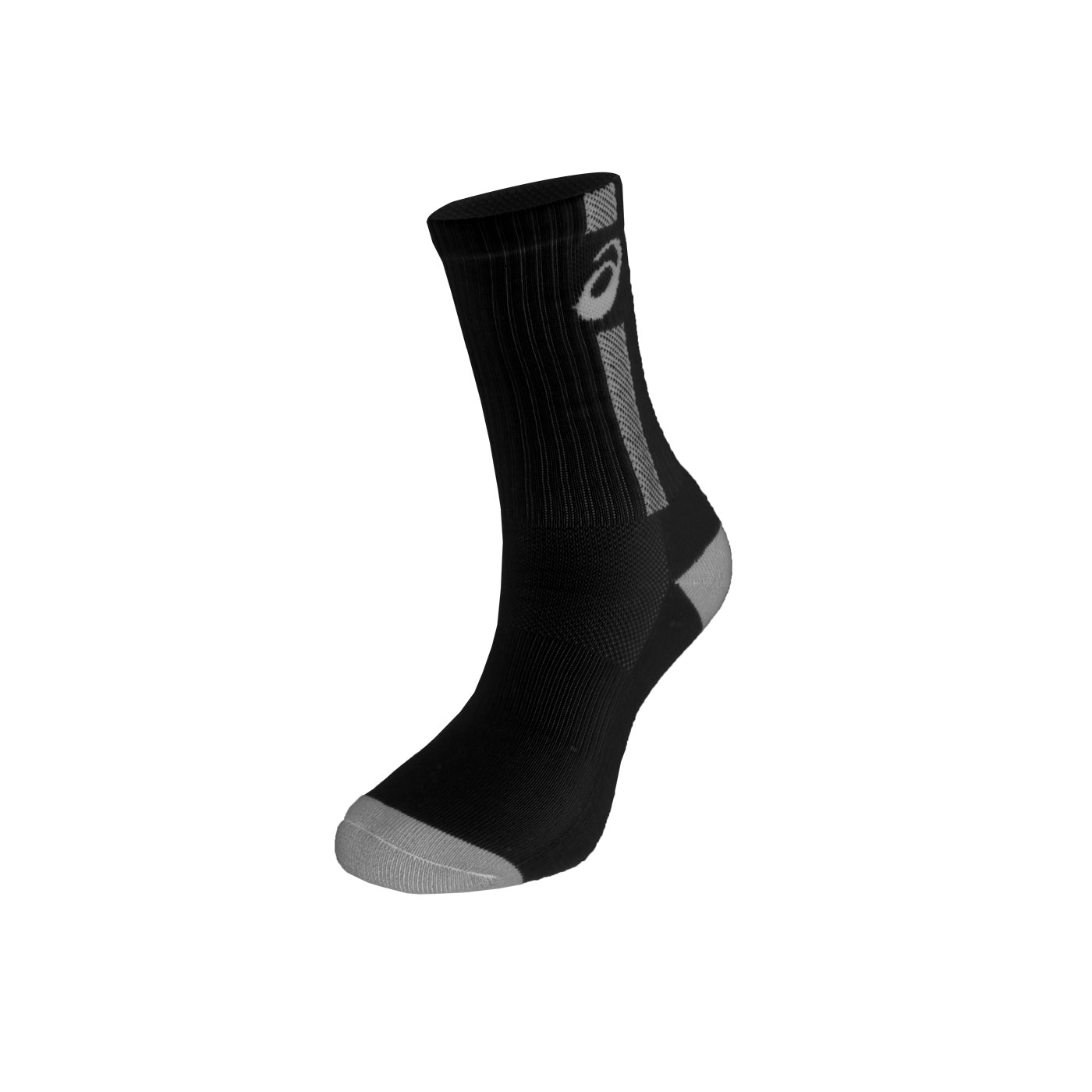ASICS 排球襪 Z12009-90 - 黑灰