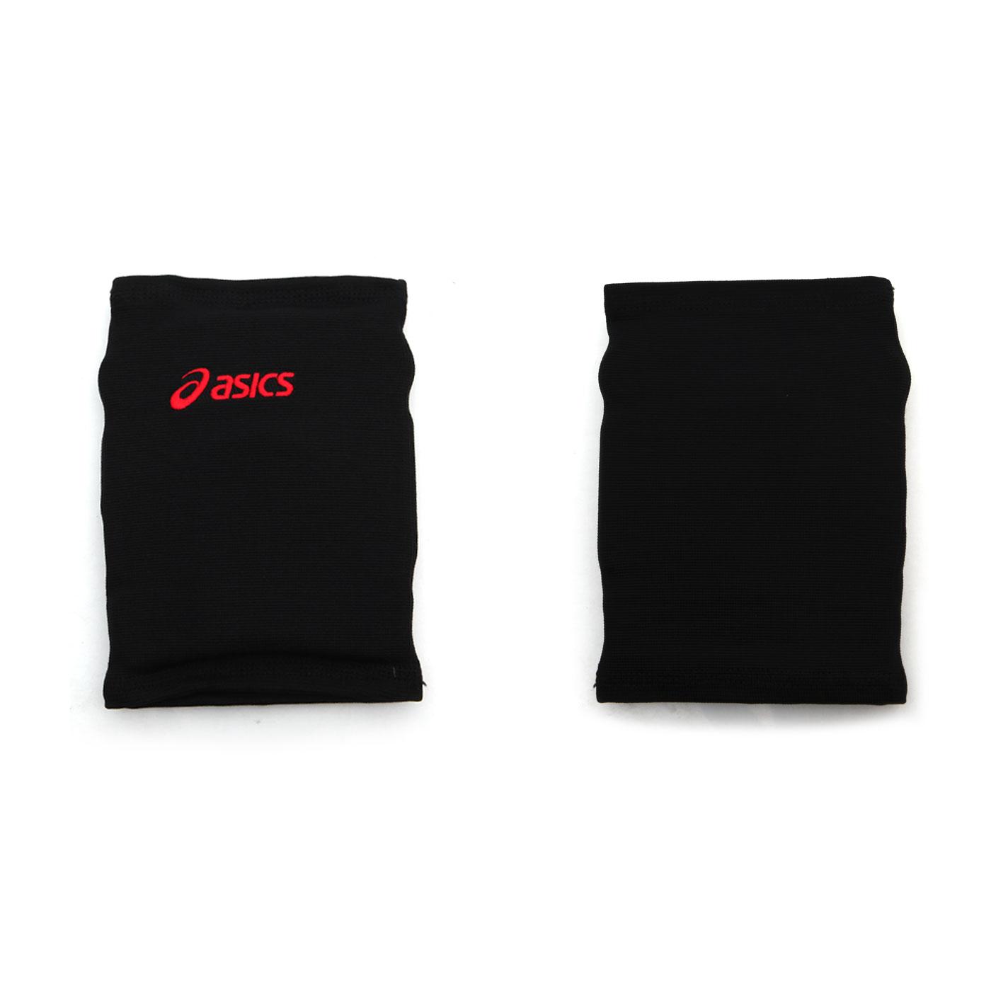 ASICS 短版泡棉護膝 Z31405-5008 - 黑紅