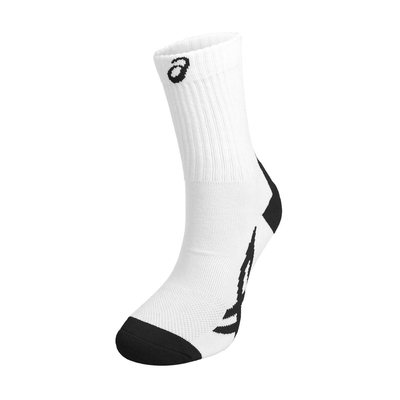 ASICS 運動中筒襪 Z32011-0123 - 白黑